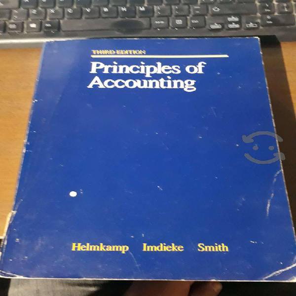 Principles of accounting (principios de la contabi