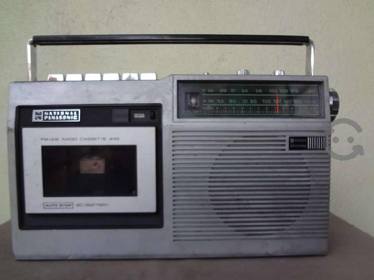 Radio grabadora national panasonic,mod.rq-443s