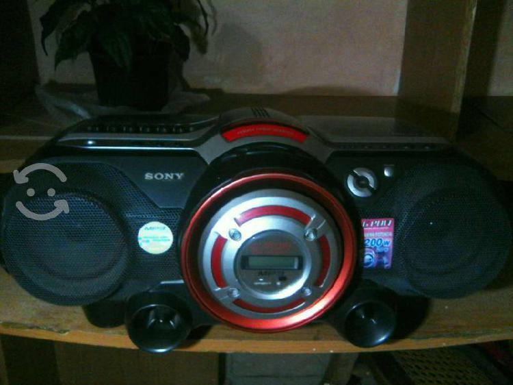 Radio grabadora sony cfd-g550cp cd mp3, cassette