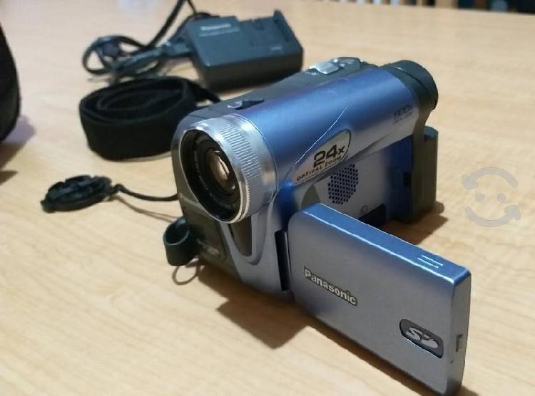 Videocamara panasonic 24x zoom minidv