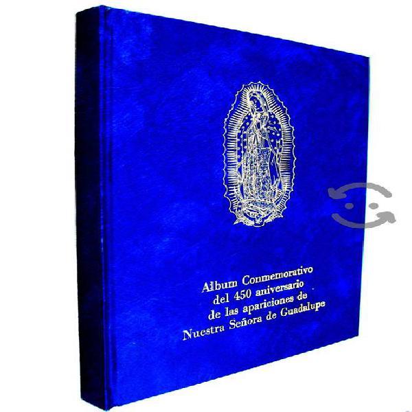 Virgen de guadalupe. álbum conmemorativo 450 años.