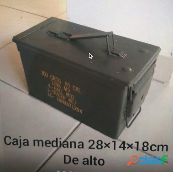 Cajas metálicas con sellado hermético