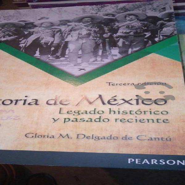 Historia de méxico e historia universal pearson