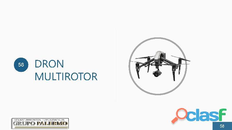 Levantamientos Topograficos con DRON Multy Rotor