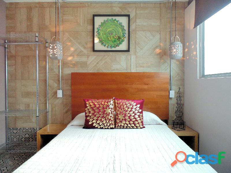 Loft con Servicios Incluidos en Coyoacan SUR