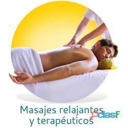 Masajes relajantes para hombres