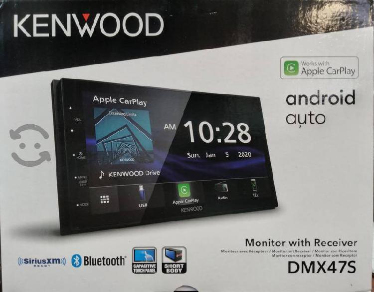 Pantalla kenwood con apple carplay y android auto