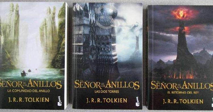 Saga completa el señor de los anillos libros