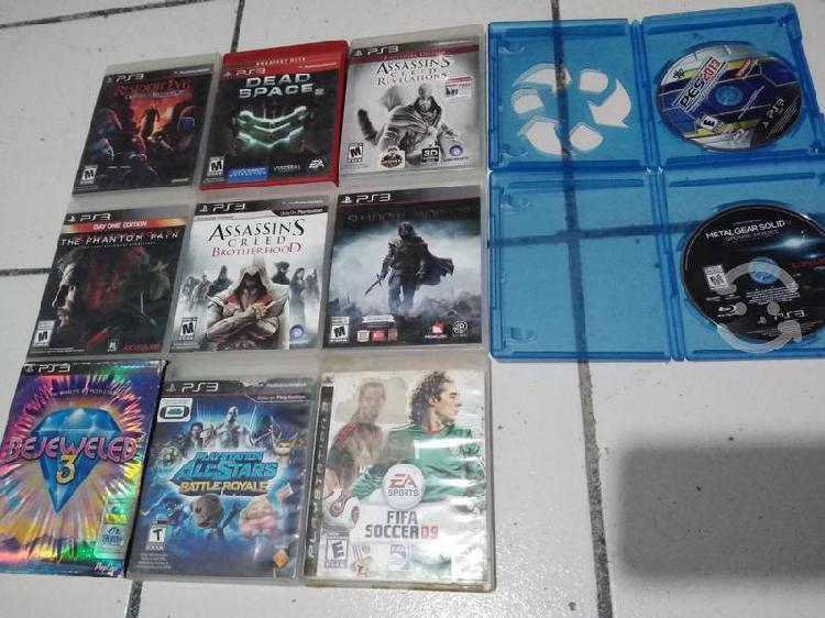 11 juegos playstation 3 (ps3)