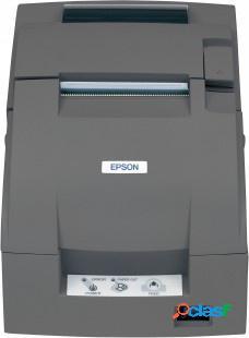 Epson tm-u220b, impresora de tickets, matriz de puntos, alámbrico, ethernet, negro - incluye fuente de poder, sin cables