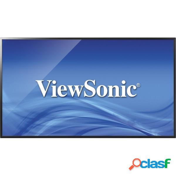 "Viewsonic cde4302 pantalla comercial led 43"", full hd, widescreen, negro"