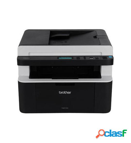 Multifuncional brother dcp-1617nw, blanco y negro, láser, inalámbrico, print/scan/copy