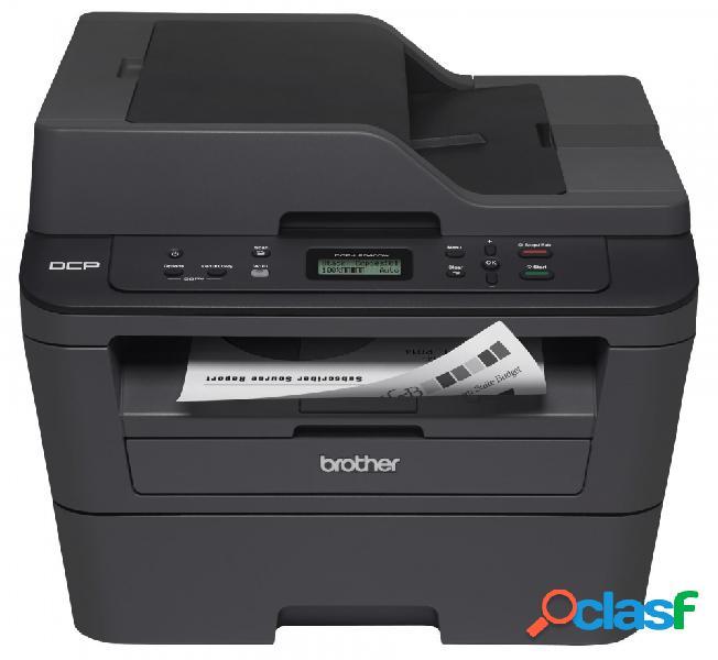 Multifuncional brother dcp-l2540dw, blanco y negro, láser, inalámbrico, print/scan/copy