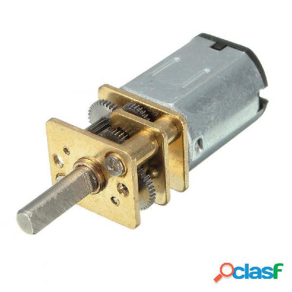 Motor eléctrico de la caja de cambios del motor del engranaje del metal de n20 dc12v 300rpm mini