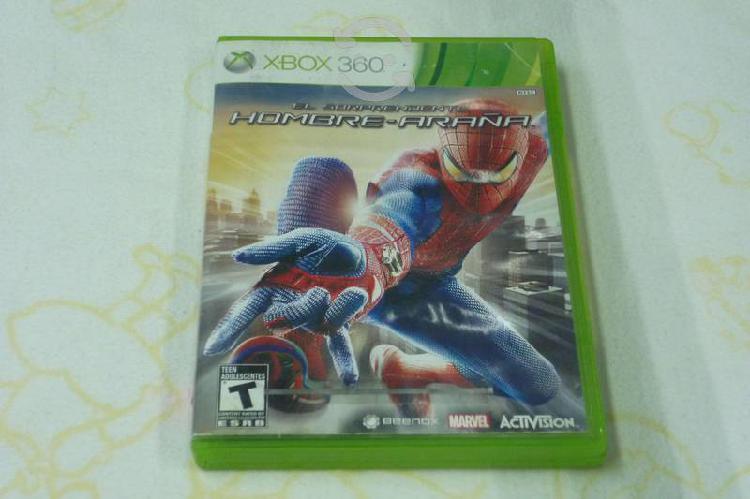 El sorprendente hombre araña x360