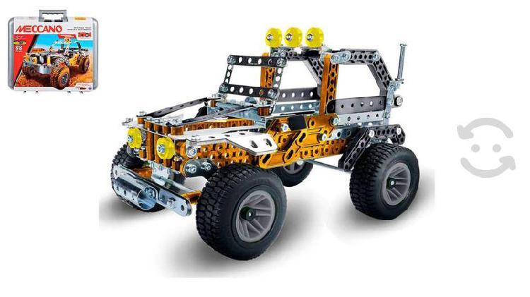 Meccano, carro de carreras de construcción 27 en 1