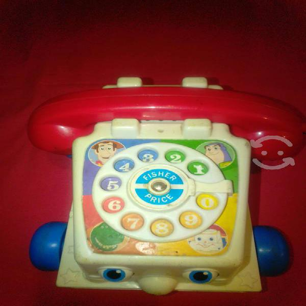 Teléfono toy story 3 de fisher price para reparar