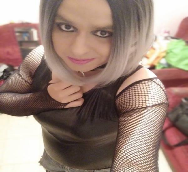 Travesti ofrece servicios de dama de compañia
