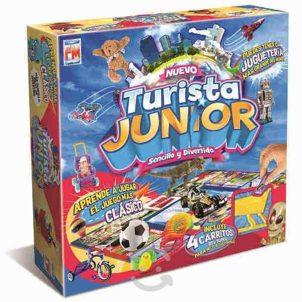 Turista junior versión jugueteria niño nuevo!!!