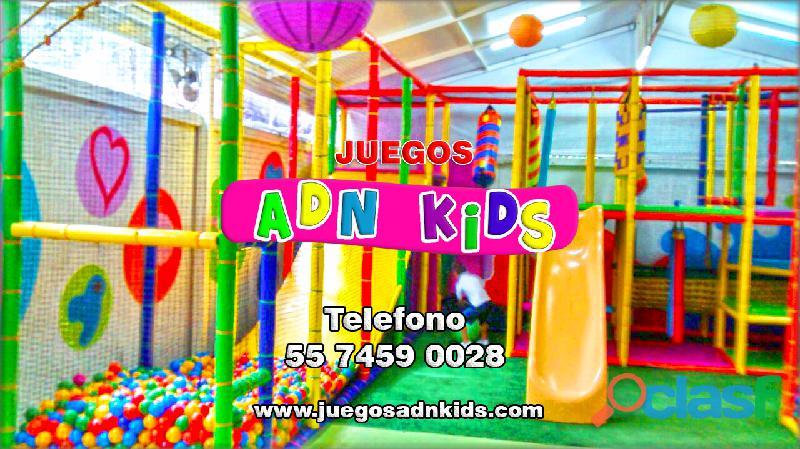 Fabricante de Juegos Infantiles tipo Playground para salones de fiestas 1
