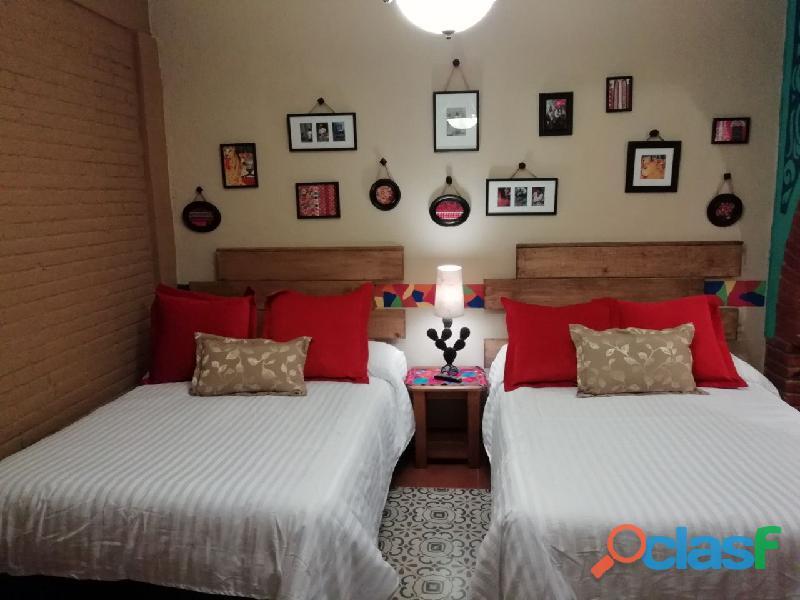 Hospedate en una bonita suite