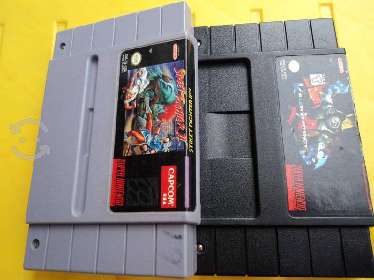 Nintendo super casets.