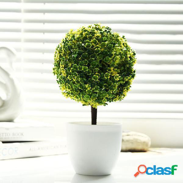 Oficina de árboles decorativos potted plant potted pot decoración decorativa