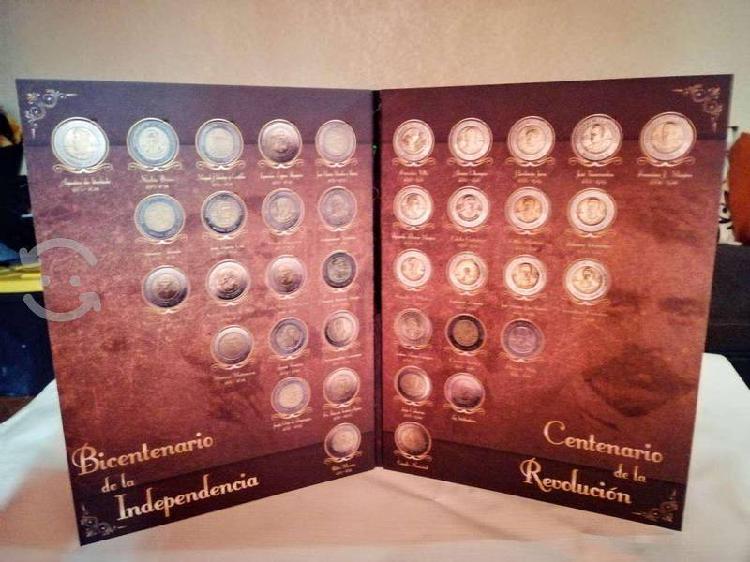 Album $5 del bicentenario y centenario!!!