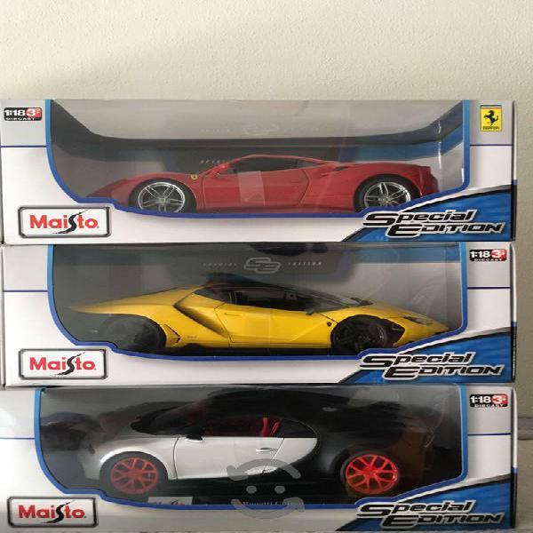 Colección autos carritos escala 1:18