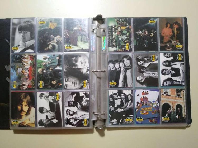 Colección tarjetas the beatles