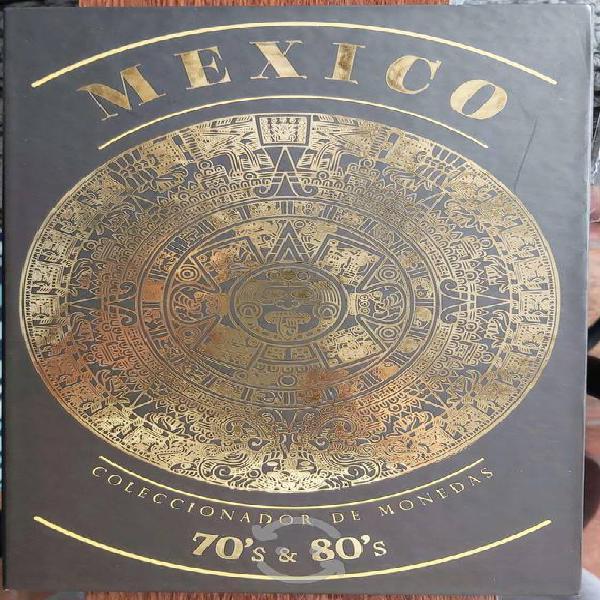 Coleccionador de monedas años 70's y 80's méxico