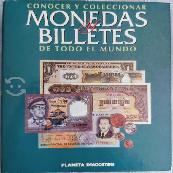 Conocer y coleccionar monedas y billetes del mundo
