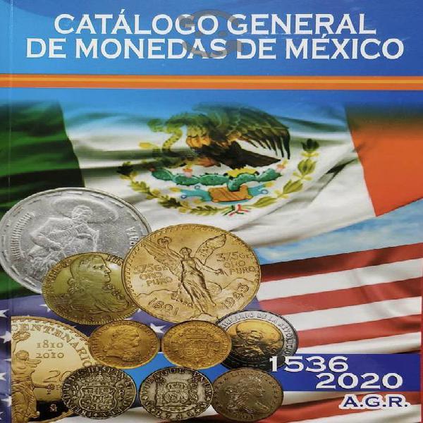 Catalogo de monedas mexicanas agr edición 2020