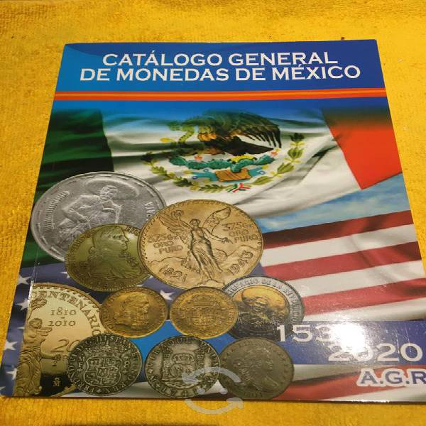 Catálogo general de monedas de mexico 1536-2020