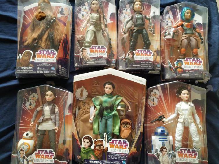 Colección star wars force of destiny