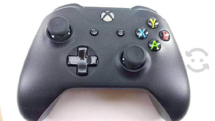Control xbox one color negro