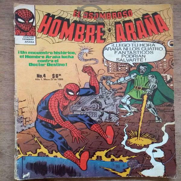 El hombre araña no. 4 mayo 1980