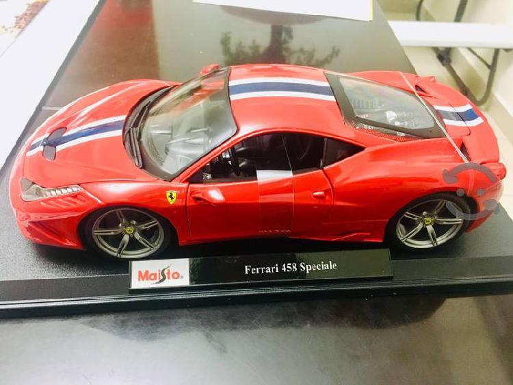 Ferrari 458 speciale! escala 1:18 nuevo colección!