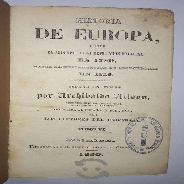 Historia de europa (s. xix)