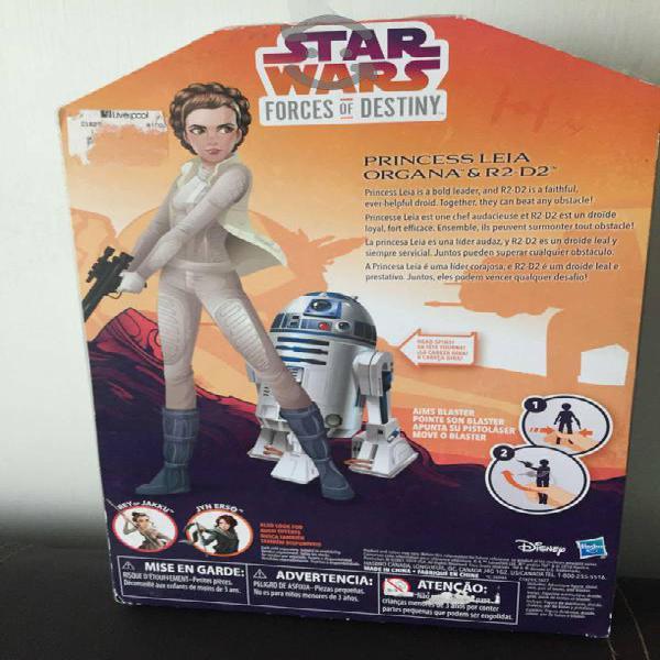 Leia y r2d2 (star wars)