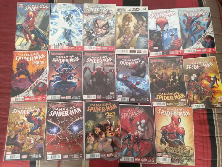 Marvel comics amazing spider-man #1 a #18