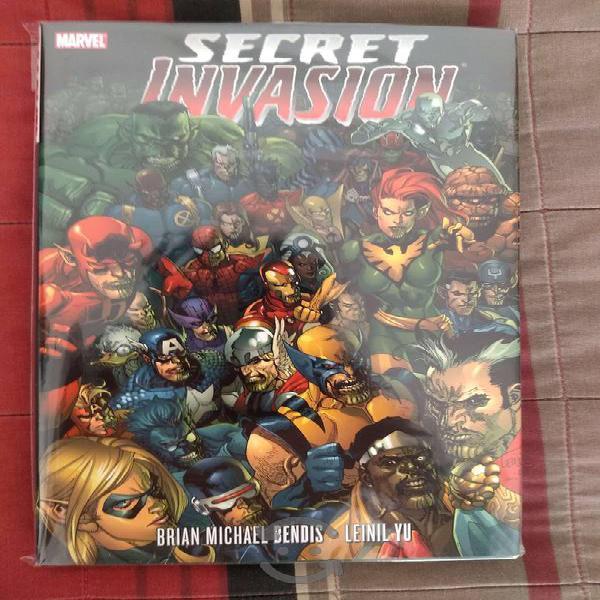 Marvel comics secret invasion hardcover
