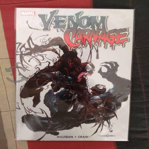 Marvel comics venom vs. carnage