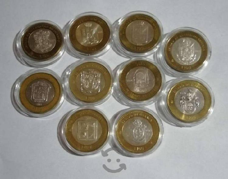 Monedas de $100 centro de plata (etapa 1)