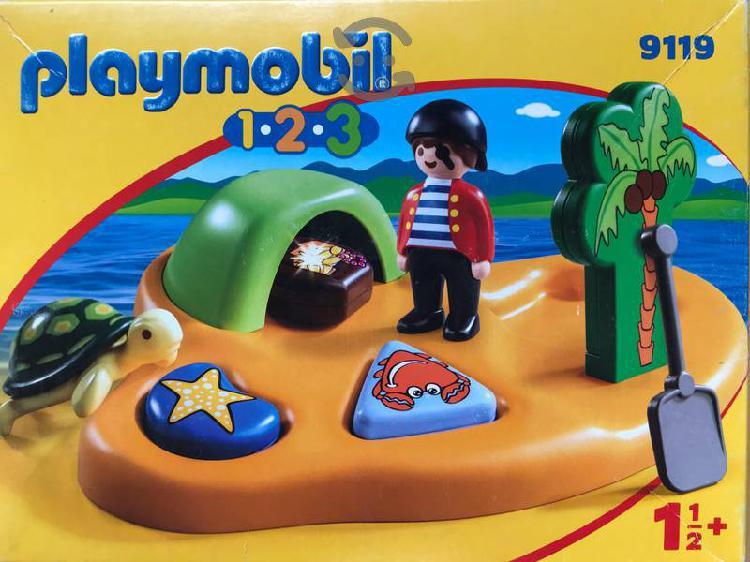Playmobil 1 2 3 isla pirata 9119