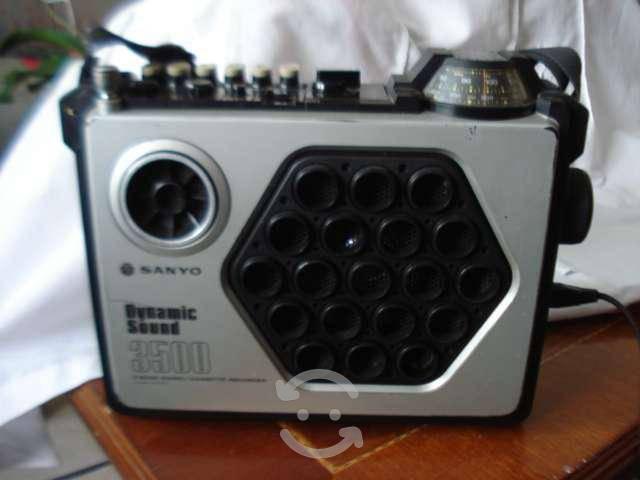 Radio grabadora marca sanyo 3500, dynamic sound