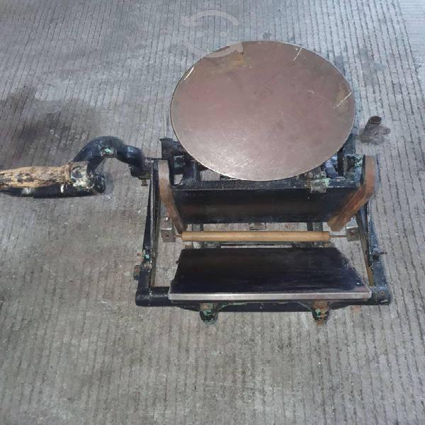 Rotulador imprenta antigua para decoración