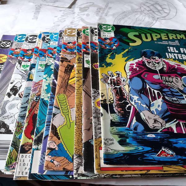 Superman. 12 comics de editorial vid, año 1995.