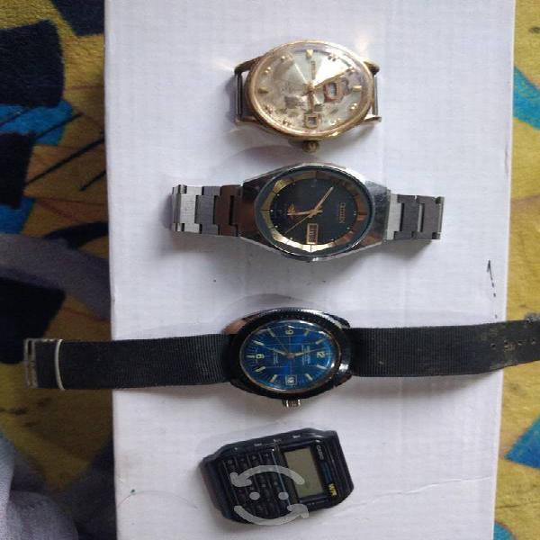Lote relojes vintage