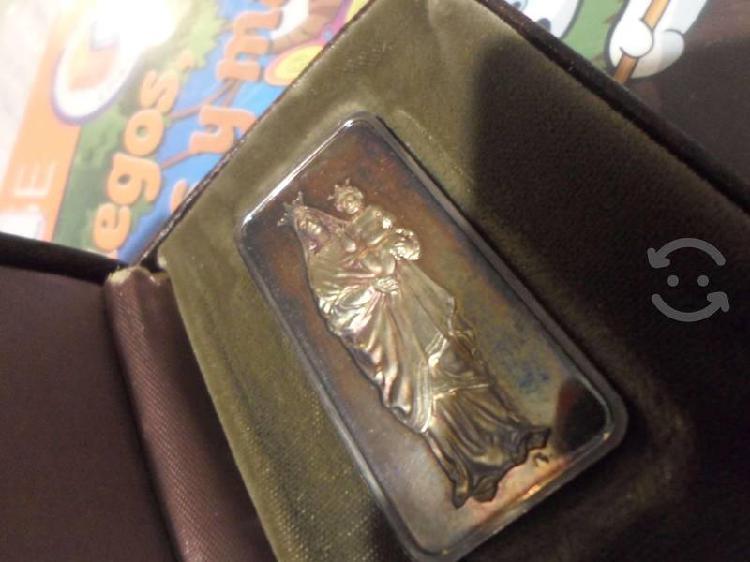 Plata hamilton mint de 1 onza troy 950 pesos